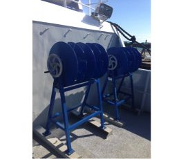 MANUAL HOOK AND BUOY LINE SPOOL